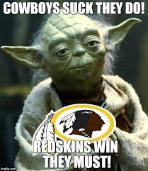 Cowboys Suck Memes - star wars yoda meme imgflip