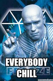 Mr Freeze Meme - out