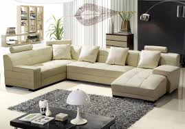 decoration cream sectional sofa home decor ideas