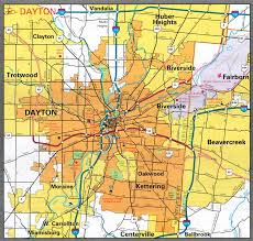ohio map of cities cities all pictures