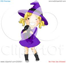 royalty free rf witch costume clipart illustrations vector