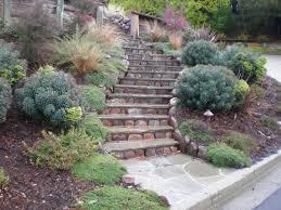 backyard hill landscaping ideas easy before photo mesmerizing