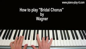 wedding dress chords piano bridal chorus piano sheet and piano tutorial