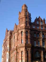 free stock photo of close up of midland hotel in manchester