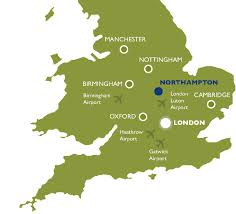 Nottingham England Map by Life In Northampton Bosworth Independent College