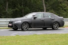 lexus sedan 2013 first spy shots of 2013 lexus gs sedan