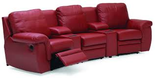 Custom Home Theater Seating Decorating Fill Your Living Room With Awesome Palliser Furniture