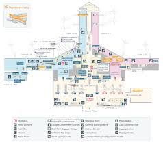 Airport Terminal Floor Plans by Airport Floor Map Services And Facilities Chubu Centrair