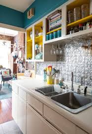 funky kitchen ideas teal kitchen cabinets all images download full size images
