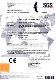 Responsibility Worksheet Ce Certificate Issued By Sgs Shandong Zhangqiu Blower Co Ltd