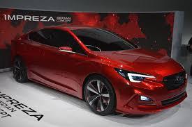 lexus sedan concept five things to know about the subaru impreza sedan concept