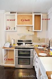 diy kitchen cabinets book raise microwave cabinets our diy the cabinet cook book