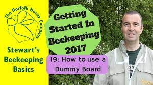 how to use a dummy board for beginner beekeepers youtube