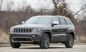 jeep grand cherokee 2017 2017 jeep grand cherokee in depth model review car and driver