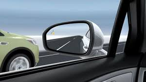 Blind Spot Side Mirror Blind Spot Information System With Cross Traffic Alert Vehicle