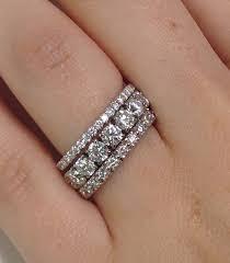 eternity ring finger wedding rings how do wear eternity bands adiamor