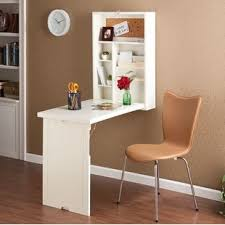 Folding Table Attached To Wall Wall Mounted Fold Table Wayfair