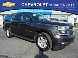 pre owned 2015 chevrolet suburban lt sport utility in naperville