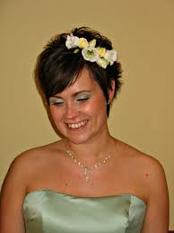 short hairstyles bridesmaid short hair updos bridesmaid with