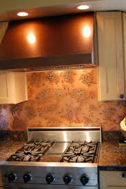 Copper Tiles For Kitchen Backsplash 16 Best Copper Backsplash Images On Pinterest Copper Backsplash