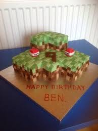 Minecraft Cake Decorating Kit Minecraft Cake 3d With Video Tutorial Birthday Cake Fondant Kids