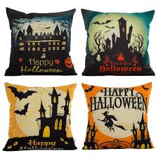 Happy Halloween Light Up Sign by Amazon Com Hosl Pw01 4 Pack Happy Halloween Square Decorative