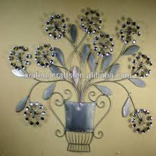 Metal Flower Wall Decor - metal flower ornament art wall decor cheap home decor global sources