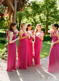 fuschia bridesmaid dress wedding fashion top 4 beautiful bridesmaid dresses for