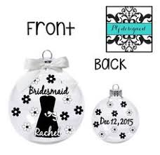 will you be my bridesmaid ornament be my bridesmaid