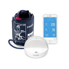 amazon com ihealth ease wireless upper arm blood pressure monitor