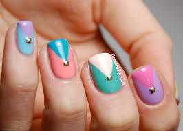 easy nail polish designs step by step trend manicure ideas 2017