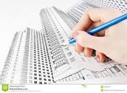 drawing a new home stock photos image 13862303