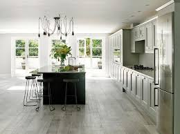 Farrow And Ball Kitchen Cabinet Paint Light Gray Kitchen With Dark Grey Island Transitional Kitchen