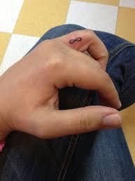 26 infinity symbol tattoos on fingers