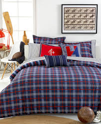 Cincinnati Reds Bedding Tommy Hilfiger Boston Plaid Full Queen Comforter Set Bedding