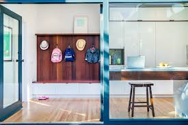 modern coat rack hall eclectic with hall mirror wall console