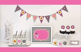Pink Black White Party Decorations from $0 83 HotRef