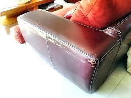 comment réparer un canapé en cuir canape cuir dechire nettoyer canapac en simili a obtenez une
