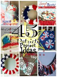 Diy Project Ideas 45 Patriotic Project Ideas Happy Hour Projects