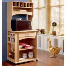 microwave cart u0026 hutch