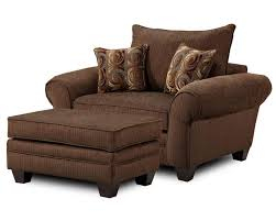 oversized fabric chair with ottoman furniture oversized reading chair in stylish design for home