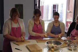 mathilde en cuisine peeling potatoes picture of l atelier cuisine de mathilde aix en
