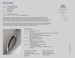 Horizontal Resume Quick Resume Maker Template Resume Builder