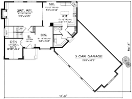 colonial style house plan 4 beds 2 50 baths 2596 sq ft plan 70 625