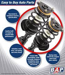 nissan altima motor mount amazon com pair brand new complete front left u0026 right strut shock