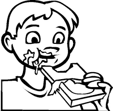 coloring pages amazing eating coloring pages healthy big