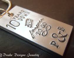 10 year anniversary gift ideas for 10 year anniversary gifts for women etsy