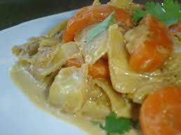 cuisiner choux blanc mijotée de carottes chou blanc et coriandre à la crème