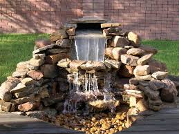 Backyard Waterfall Best 25 Outdoor Waterfalls Ideas On Pinterest Backyard Water