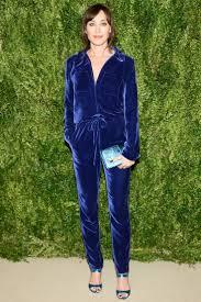 blue velvet jumpsuit 10 ways to style blue jumpsuits 2018 fashiontasty com